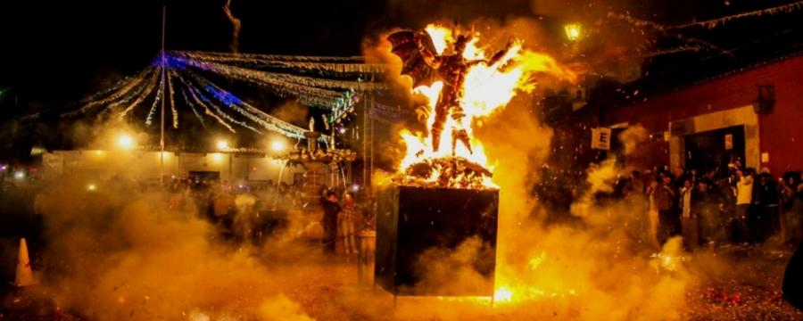 Enteraté de las consecuencias de La tradicional Quema del Diablo