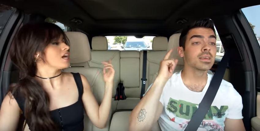 ¡Camila Cabello y Joe Jonas juntos en Carpool Karaoke!