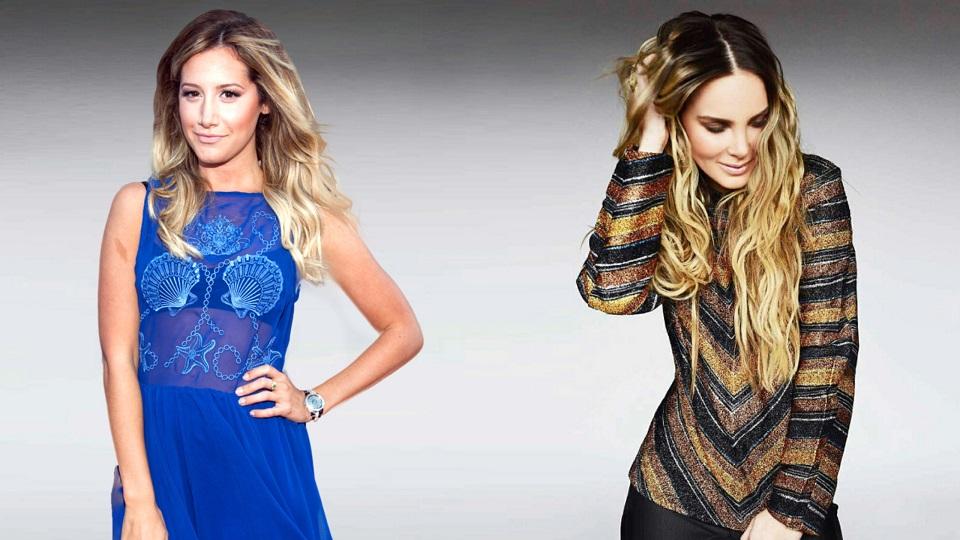¿Ashley Tisdale y Belinda juntas?