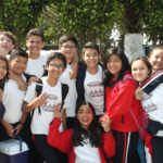 Estuvimos en el recreo del Colegio Lehnsen Roosevelth