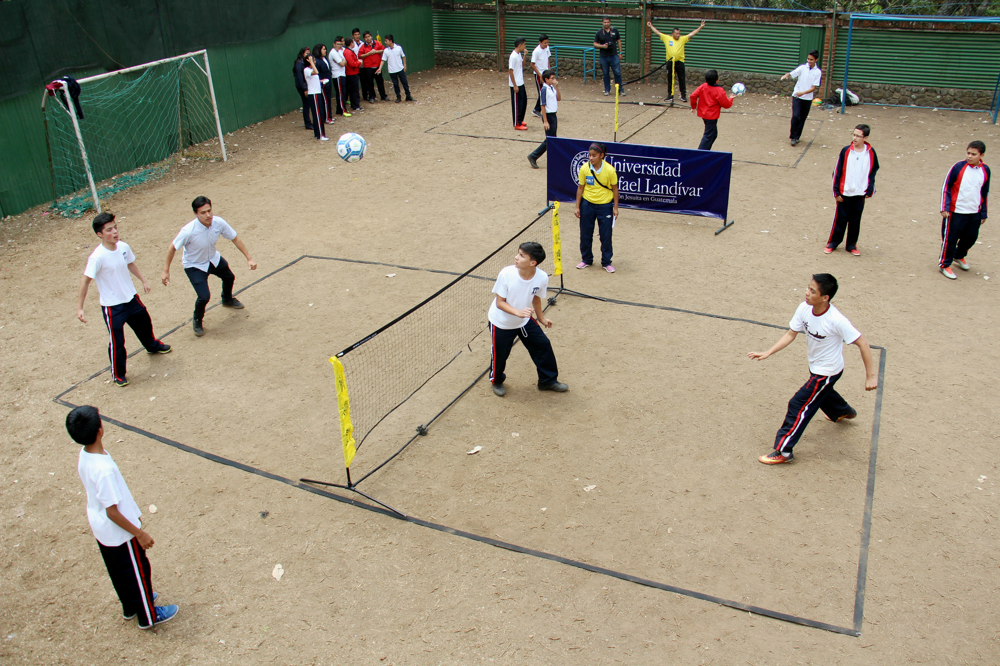 Arranca el segundo torneo interescolar de futbol tenis