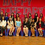 Celebración del día de las secretarias del Comercial Guatemalteco