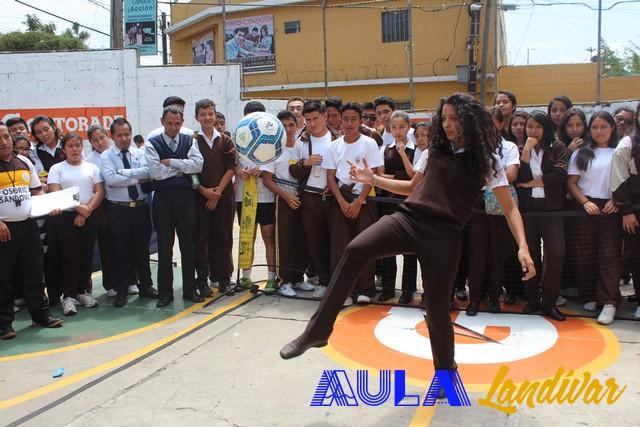 El #FTAAula17 llegó al Colegio Osorio Sandoval
