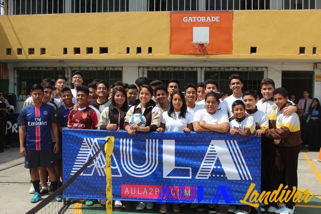 Sexta eliminatoria del campeonato FTA en el Colegio Osorio Sandoval