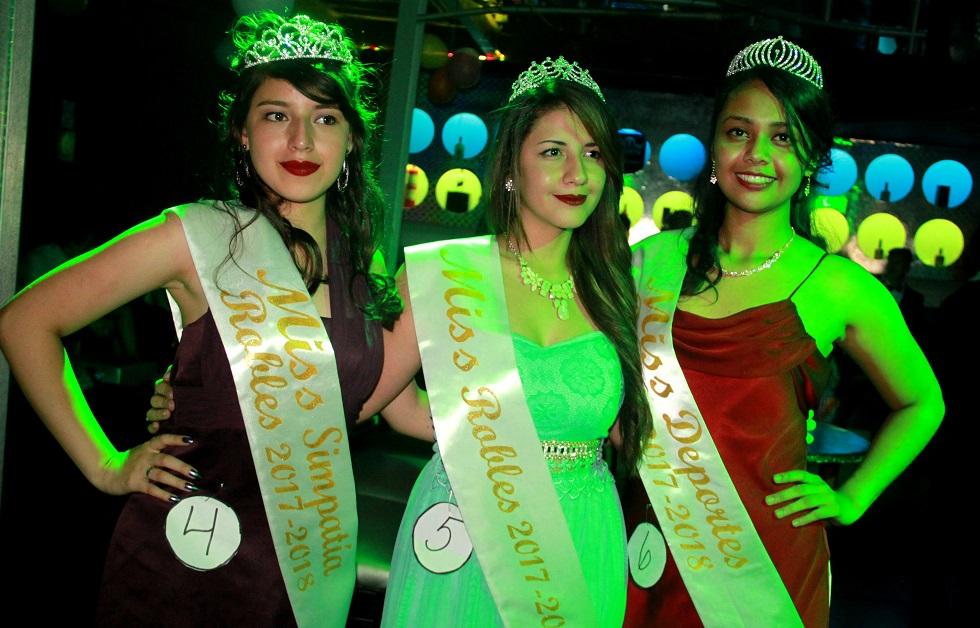 Elección de Miss en el Instituto Rodolfo Robles