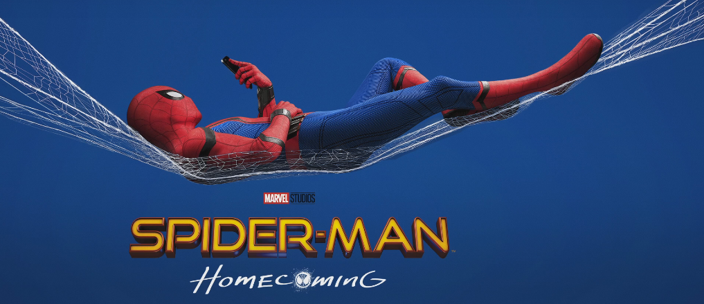 ¡Spiderman Homecoming llega a la pantalla grande!