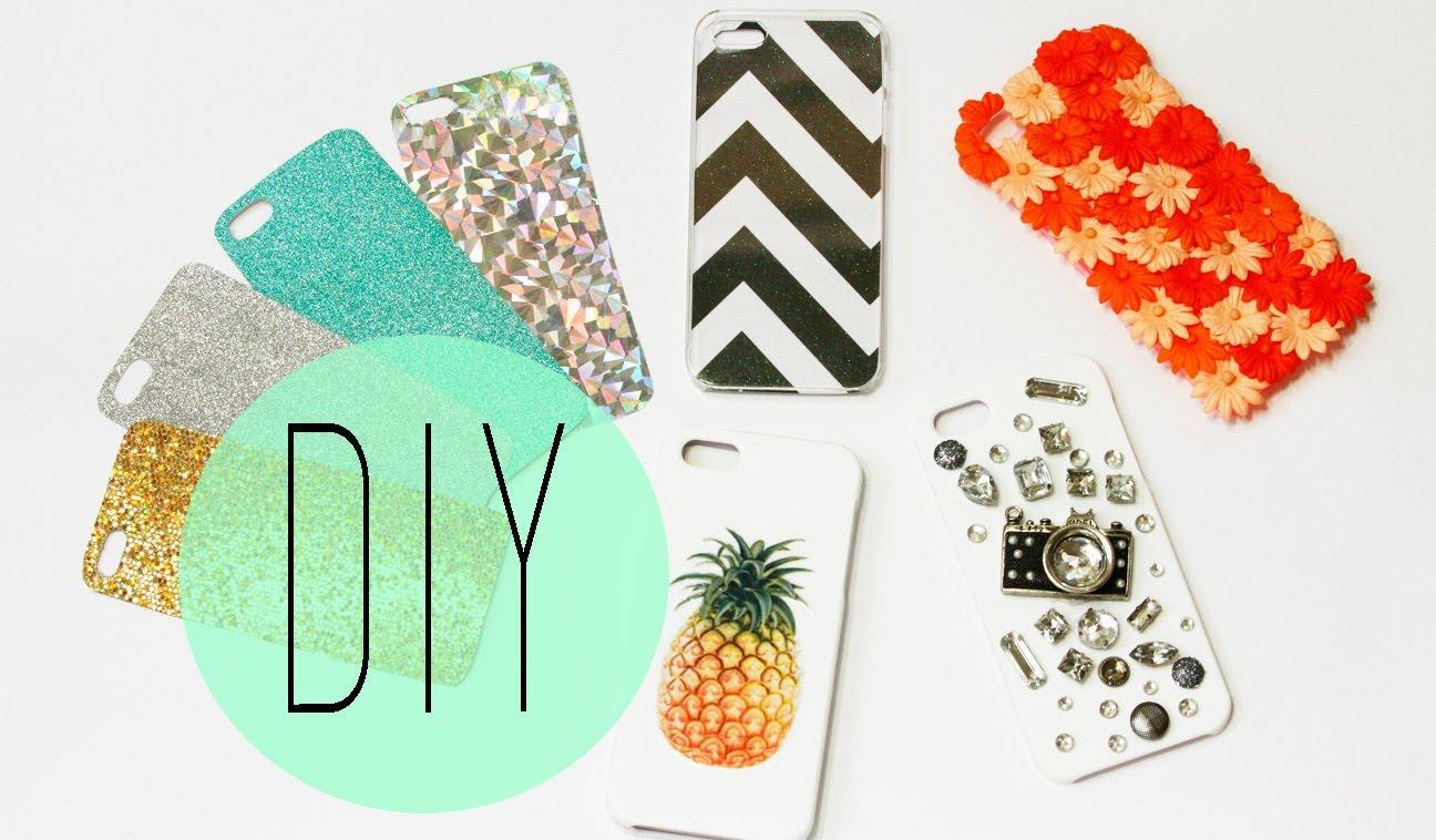 4 ideas para decorar el case de tu celular