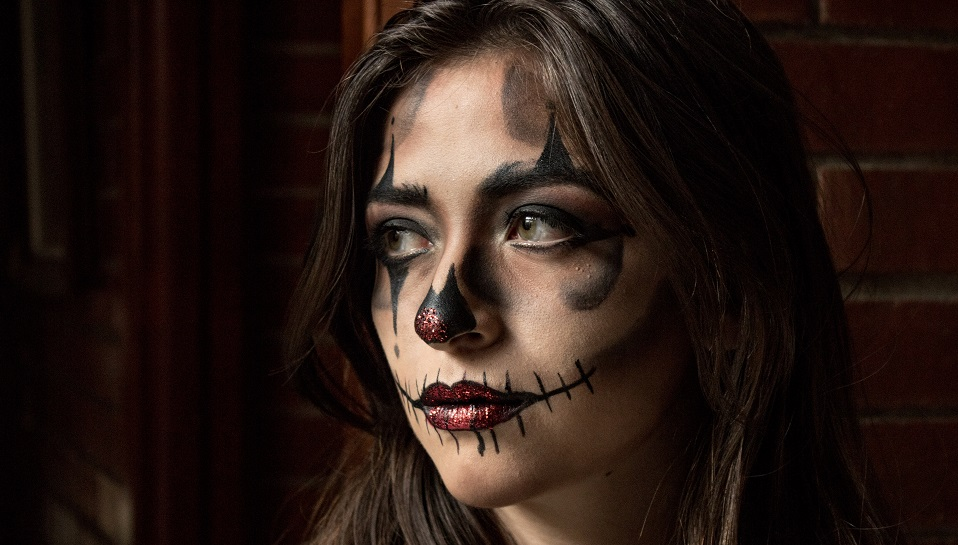 2 estilos de maquillaje para Halloween