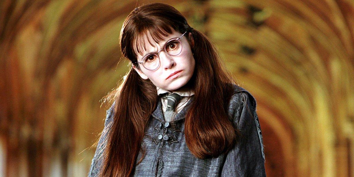 ¿Te acordás de Myrtle la Llorona de Harry Potter? Mirá sus últimas fotos