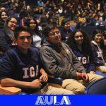 Primer día de clases 2018 en el Colegio IGA