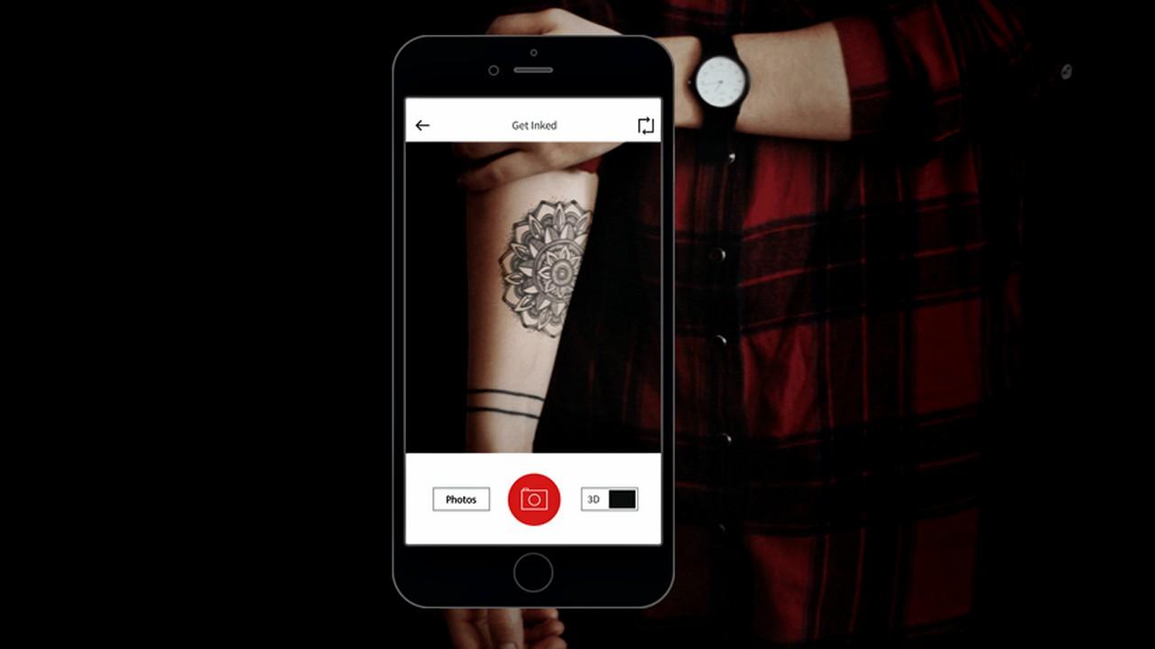 Inkhunter, la app para ver cómo será un tatuaje antes de hacértelo