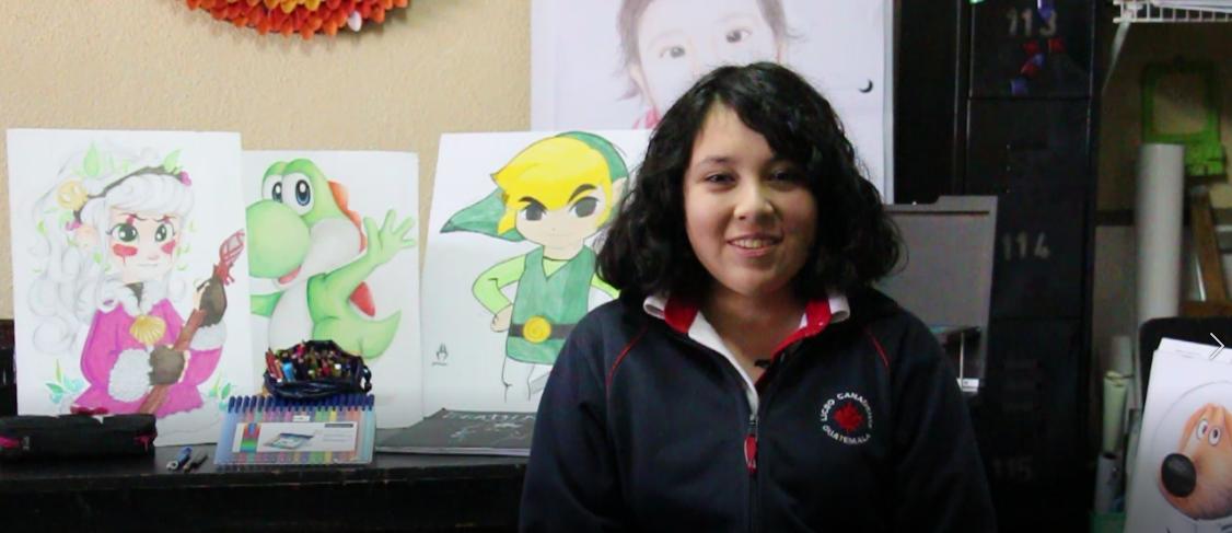 Fernanda Cruz, la nueva promesa del dibujo