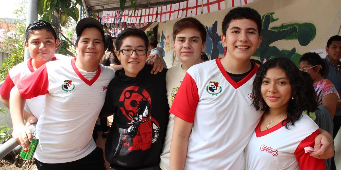Kermesse del Colegio Liceo Chapero