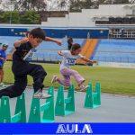 Festival de Atletismo del Colegio Santa Mónica