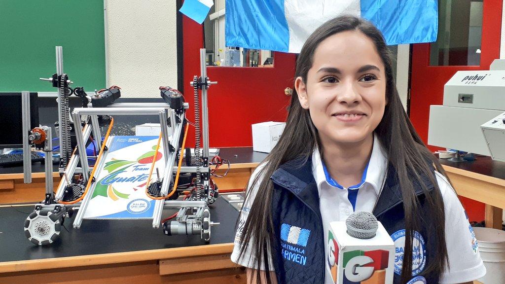 Guatemala consigue el primer lugar en el Congreso Mundial de Robótica